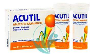 Acutil Multivitaminico Linea Classic Integratore Alimentare 20 Cpr Effervescenti