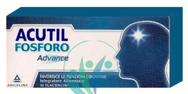 Acutil Fosforo Linea Advance Integratore Alimentare 10 Flaconcini
