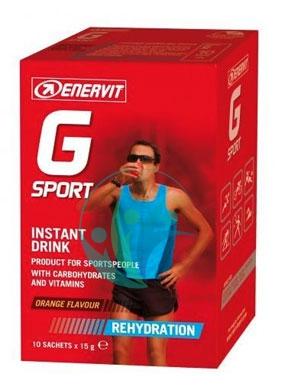 Enervit Sport Linea Reidratazione G Sport Instant Drink Vitamine 10 Bustine