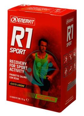 Enervit Sport Linea Recupero R1 Sport Prodotto Salino 10 Bustine Gusto Limone