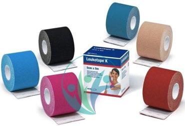 BSN Medical Linea Medicazioni Leukotape K Nastro Adesivo 5cm x 5m Nudo
