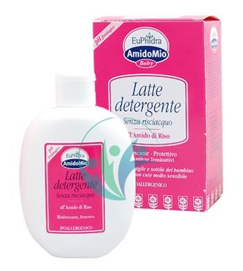 EuPhidra Linea AmidoMio Latte Detergente Idratante Pelli Sensibili 200 ml