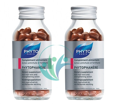Phyto Linea Phytophanere Integrazione Anticaduta Capelli ed Unghie 2x90 Capsule