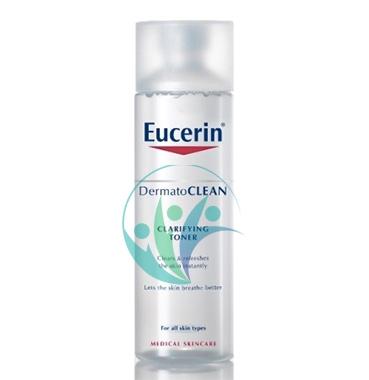 Eucerin Linea DermatoCLEAN Tonico Rinfrescante Rivelatore di Luminosità 200 ml