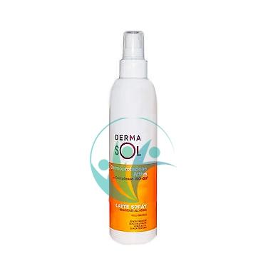Dermasol Linea Protezione Solare SPF50+ Spray Protezione Molto Alta 200 ml