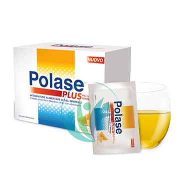 Polase Linea Sali Minerali Plus Integratore Senza Zucchero 36 Buste Arancia