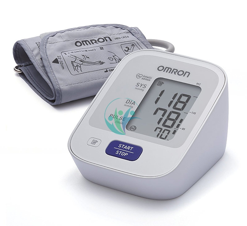 Omron Linea Dispositivi Pressione Misuratore di Pressione M2 Automatico Digitale