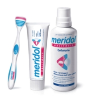 meridol Linea Igiene Dentale Quotidiana 1 Spazzolino Morbido Gengive Irritate